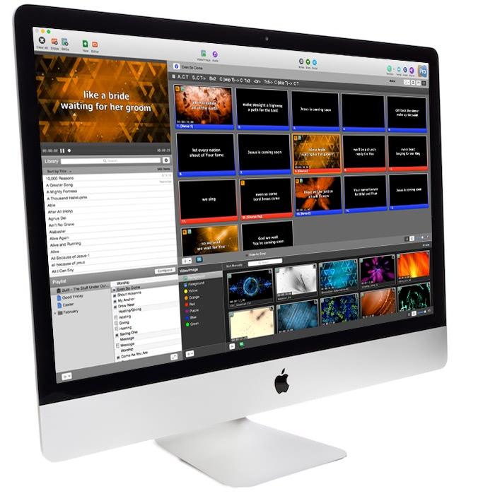 ProPresenter 6.5 优秀的现场双屏演示工具