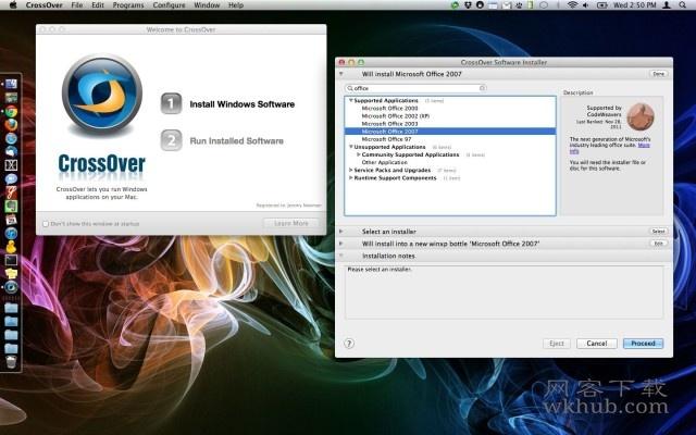 CrossOver 18.5 在你的Mac上运行window应用