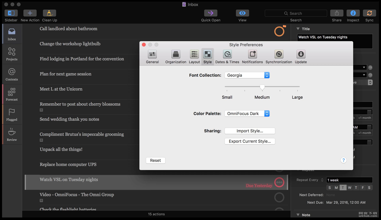 OmniFocus Pro 3.1.3 强大的任务管理软件