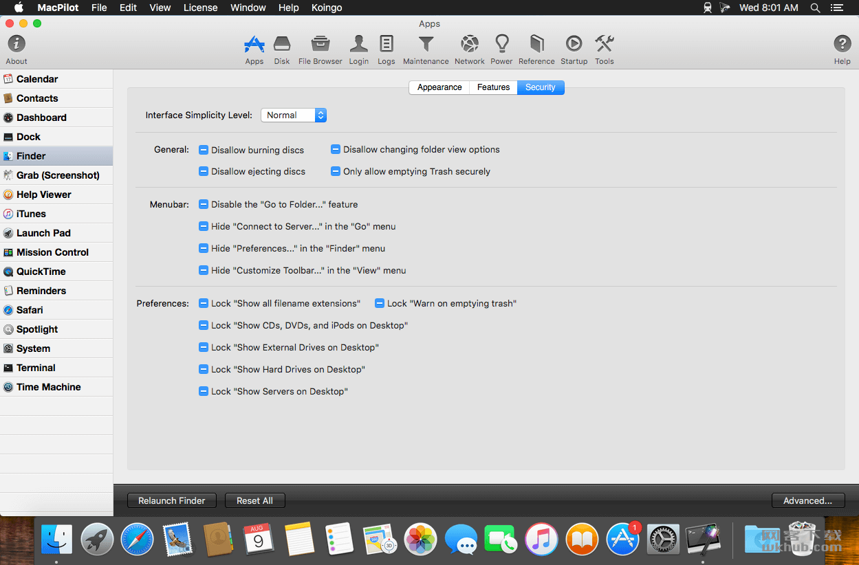 MacPilot 10.1.1 好用的系统辅助增强工具