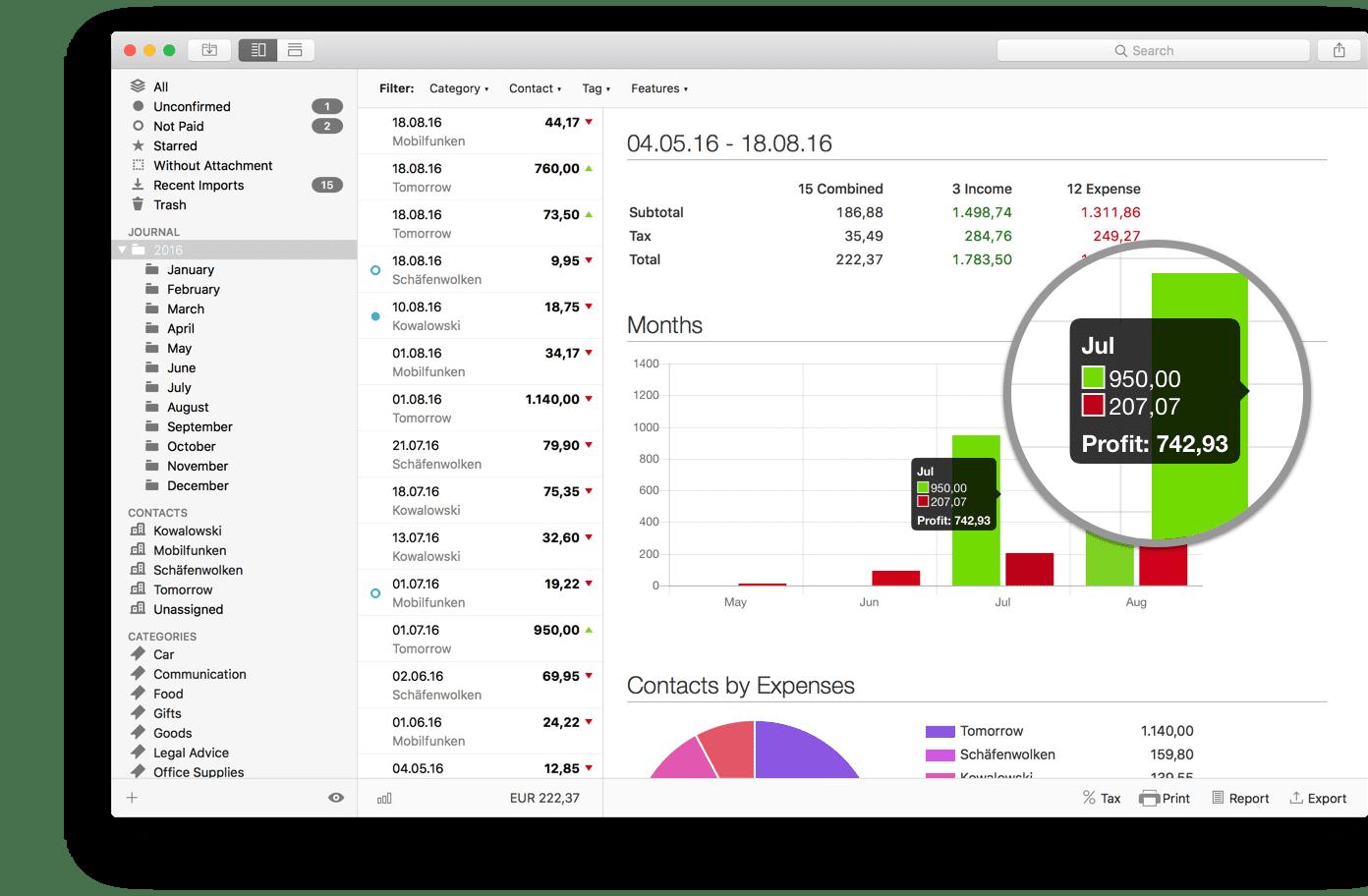 Receipts 1.9.3 家庭财务理财软件