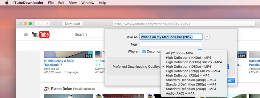 iTubeDownloader 6.5.7 优秀的在线视频下载工具
