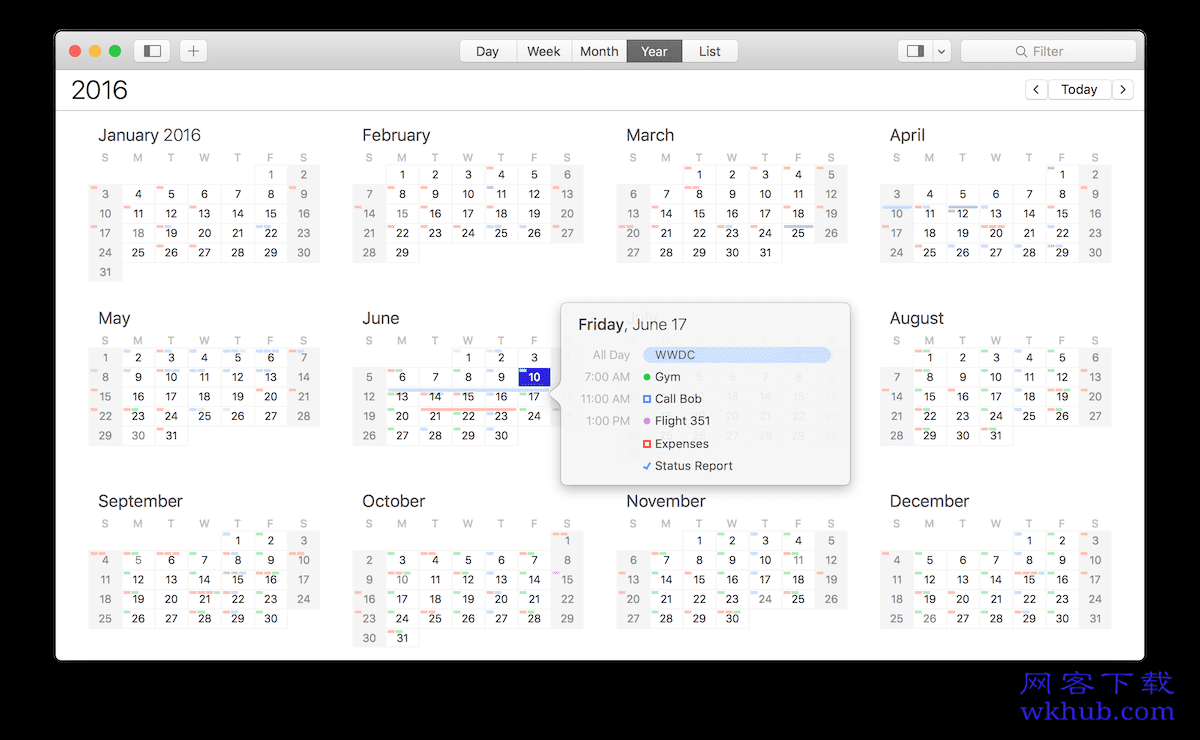 BusyCal 3.7.3 强大灵活的任务日历工具