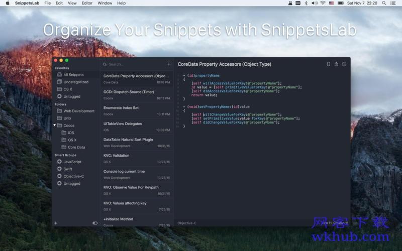 SnippetsLab 1.8.1 构建你的私人代码片段库
