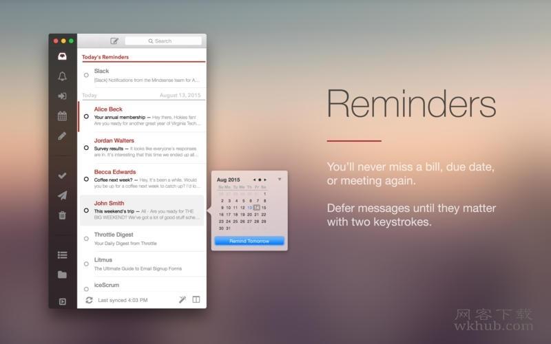 Mail Pilot 3.0.4488 精美的电子邮件客户端