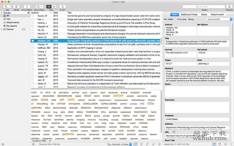 Bookends 13.0.9 全功能文献信息管理系统
