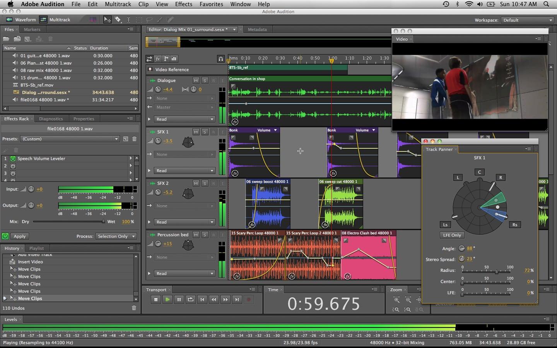 Adobe Audition CC 2018 11.1.0.184 强大音频编辑工具