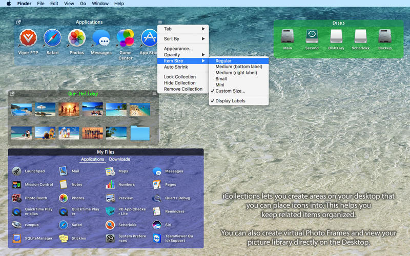 iCollections 5.3 桌面图标整理工具