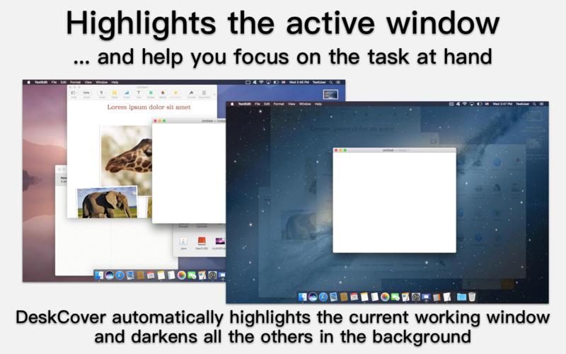 DeskCover 1.1.66 保持桌面整洁的小助手