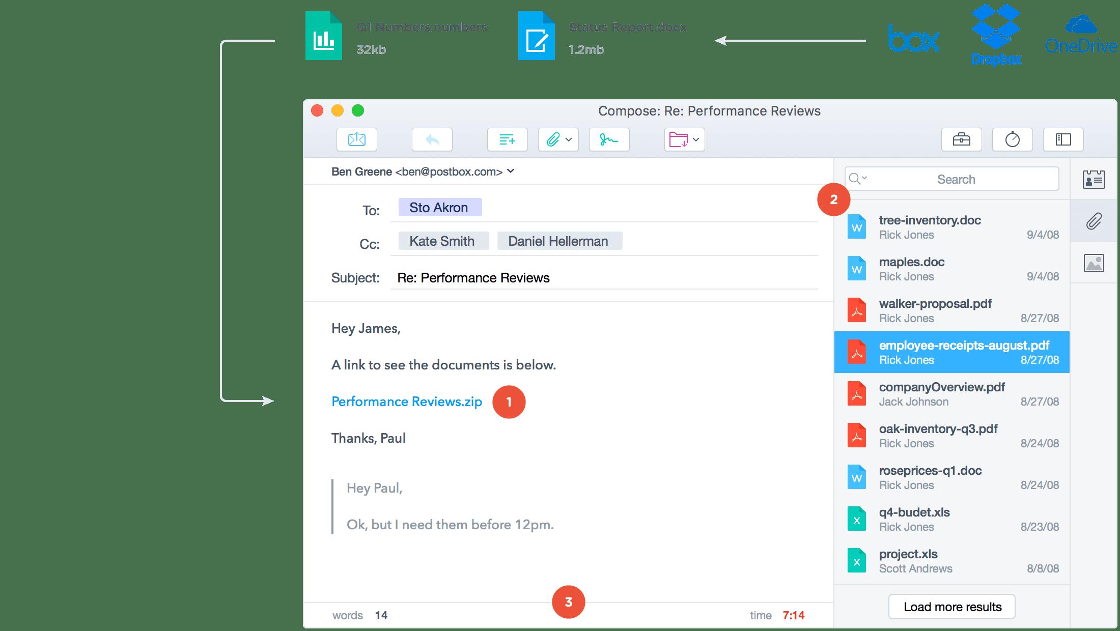 Postbox 6.1.6 优秀的邮件客户端工具
