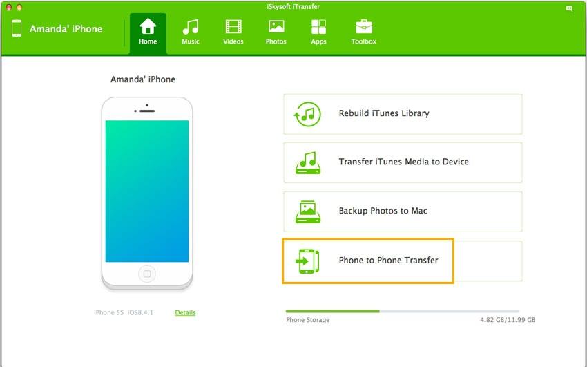 iSkysoft iTransfer 4.5.0.1 一款iOS设备文件传输和管理工具