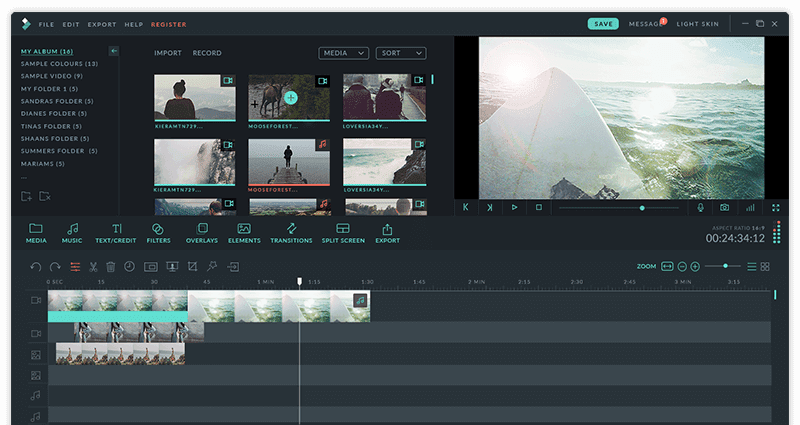 Wondershare Filmora 9.3.6.3 优秀的视频编辑工具