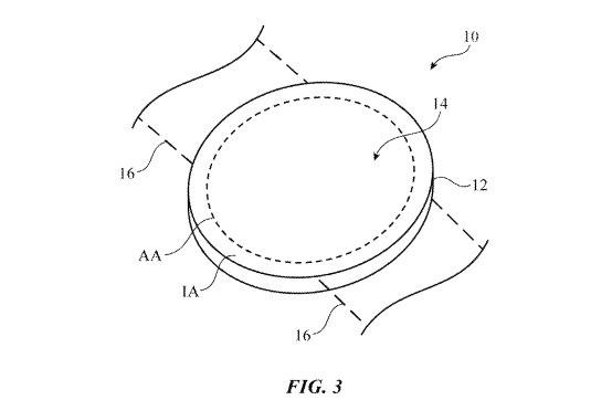 苹果获得圆形 Apple Watch 表盘专利