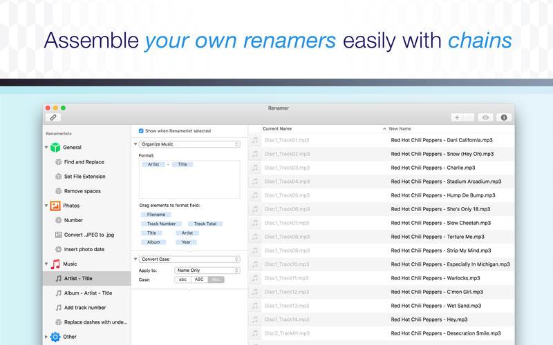 Renamer 6.0.3 文件批量重命名工具