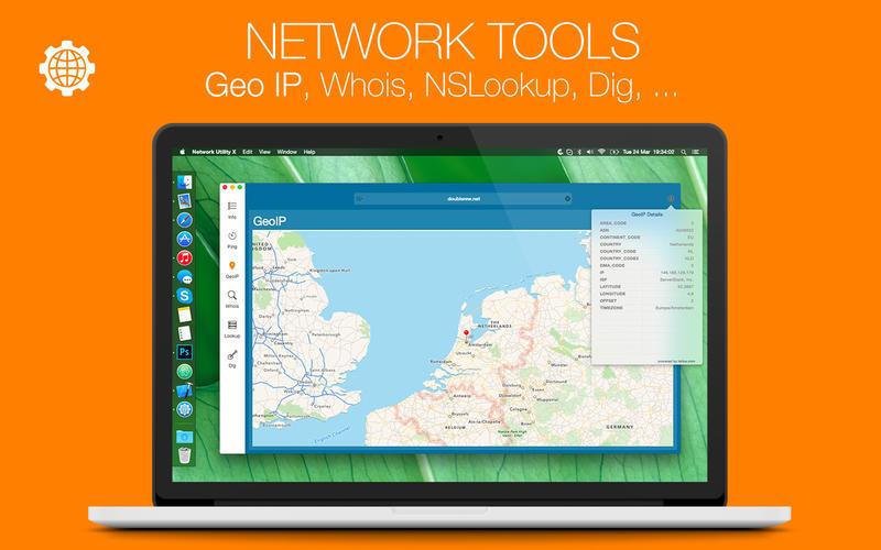Network Utility X 6.2 一款网络检测监视工具