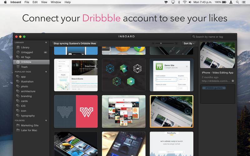 Inboard 1.1.3 设计素材收集工具