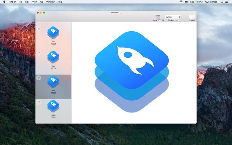 IconKit 10.1.1 应用图标制作工具