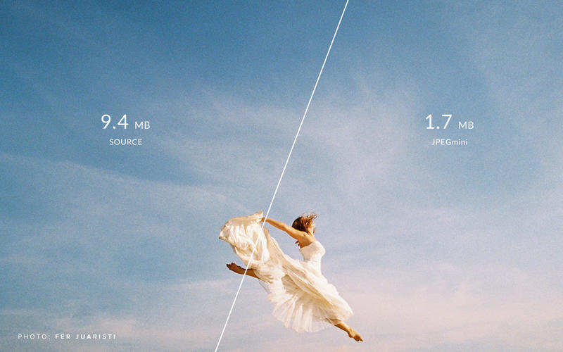 JPEGmini 1.9.0 图片压缩工具