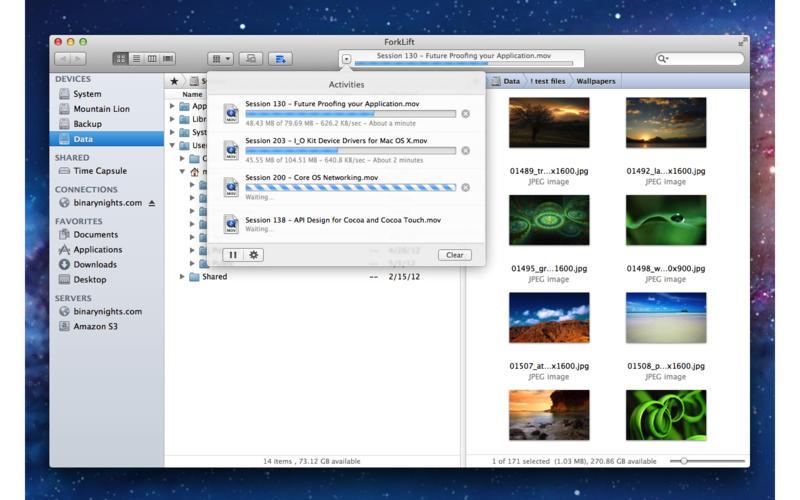 ForkLift 3.3.7 远程/本地文件管理利器