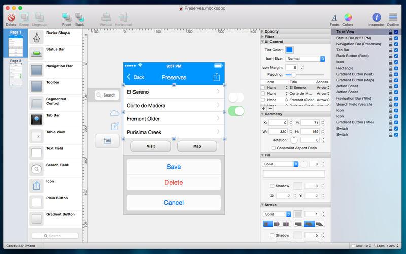 Mocks 2.7 原型设计利器