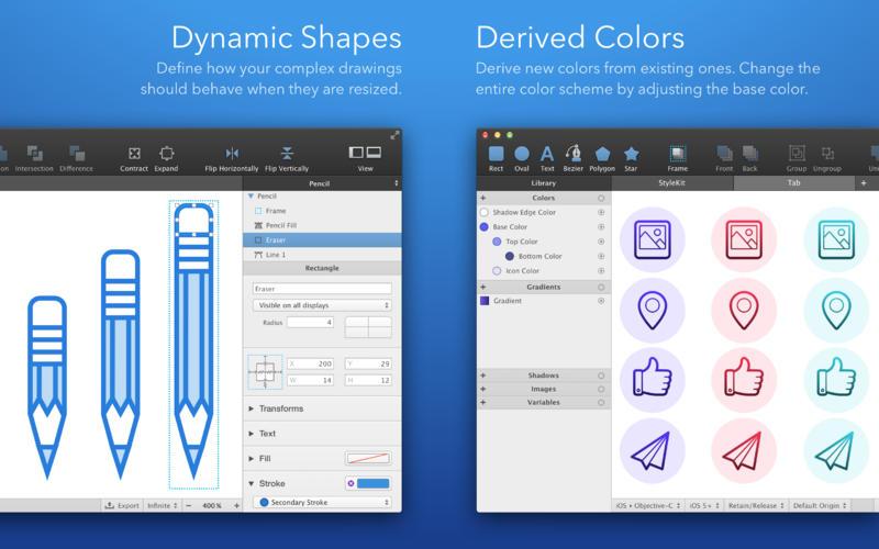 PaintCode 3.4 专业矢量图形绘图工具