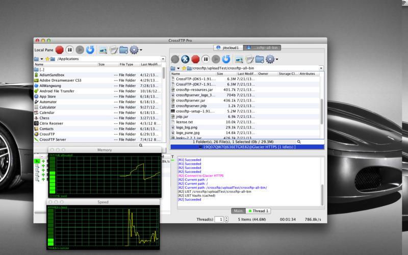 CrossFTP 1.98.8 非常给力的FTP/SFTP工具