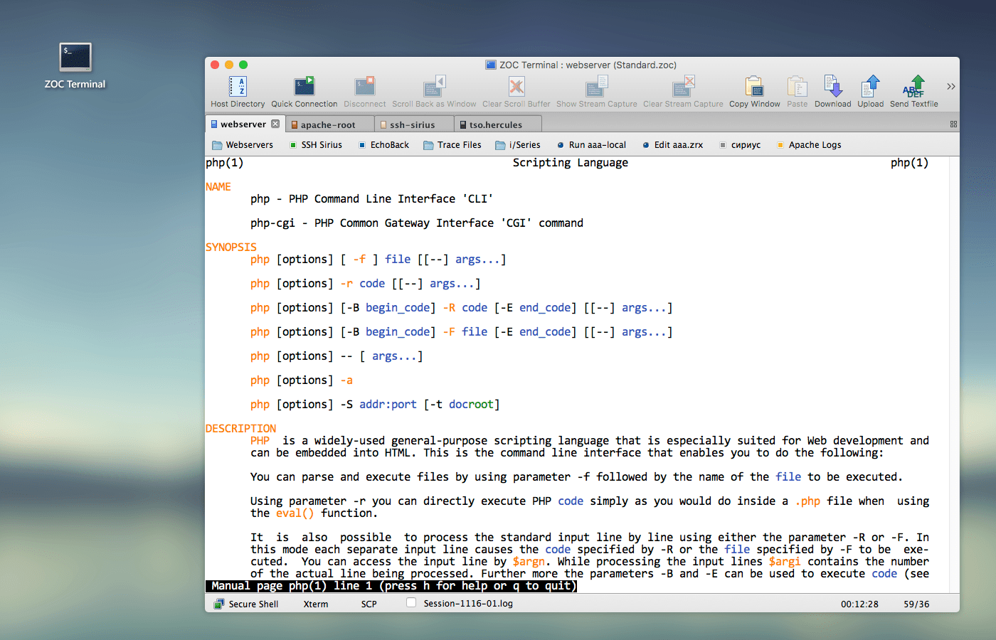 ZOC Terminal 7.23.3 强大的终端App