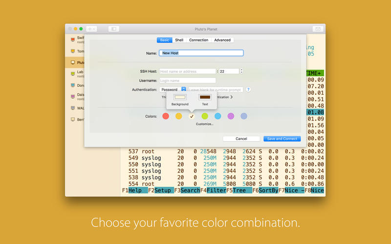 SSH Shell 17.09 便捷易用高颜值