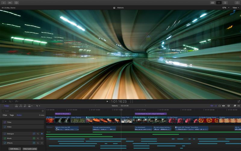 Final Cut Pro 10.4.2 专业级视频剪辑软件
