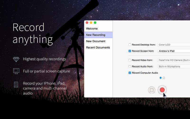 ScreenFlow 8.2.3 优秀的屏幕录像软件