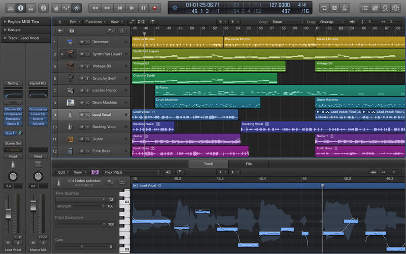 Logic Pro X 10.4.6 音乐处理制作软件