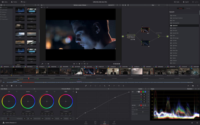 DaVinci Resolve Studio 15.2.3 Mac顶级调色软件