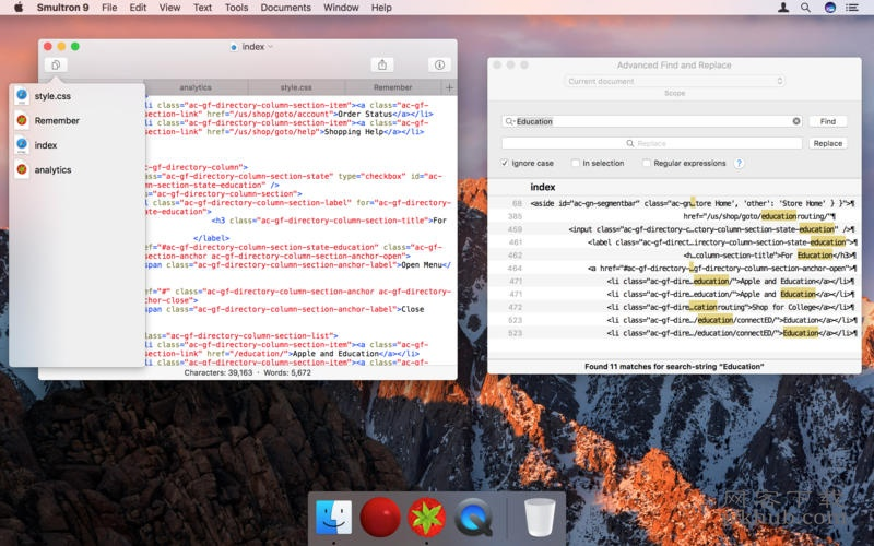 Smultron 11.1.3 一款强大的开发编辑器