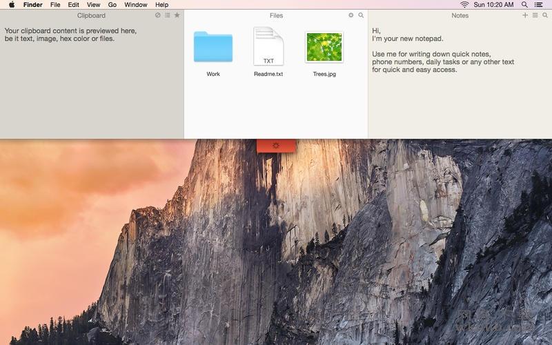 Unclutter 2.1.20d 便捷的笔记存储应用