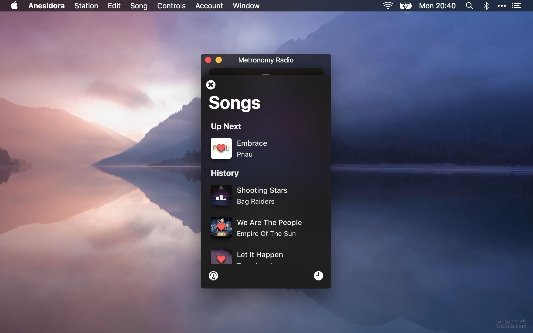 Anesidora 1.21 简单易用且美观的Pandora Radio收听工具