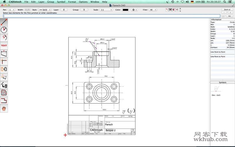 CADintosh X 8.4 优秀的CAD绘图工具