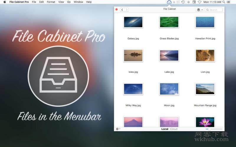 File Cabinet Pro 6.9 实用的菜单栏文件快捷管理工具