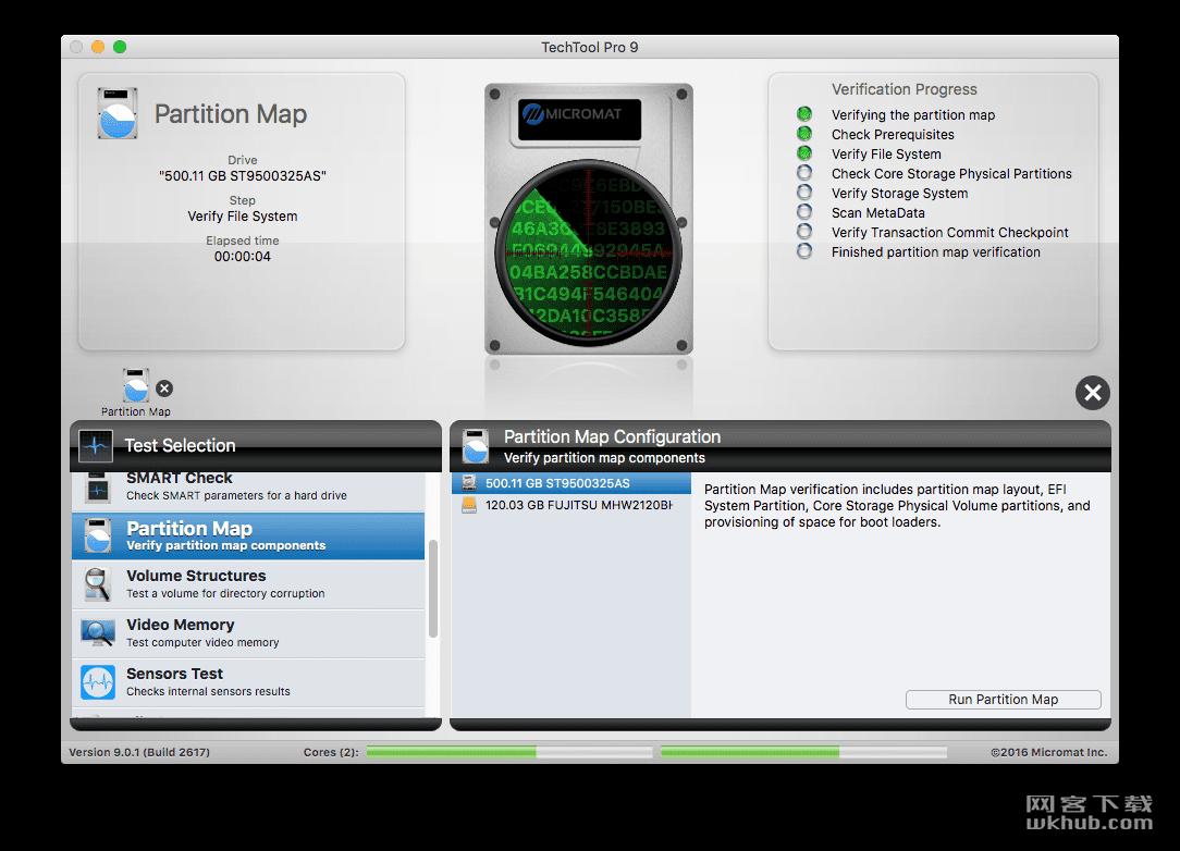 TechTool Pro 9.6.3 功能强大的硬件监测和系统维护优化工具