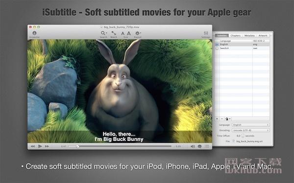 iSubtitle 3.1.1 好用的视频字幕编辑工具