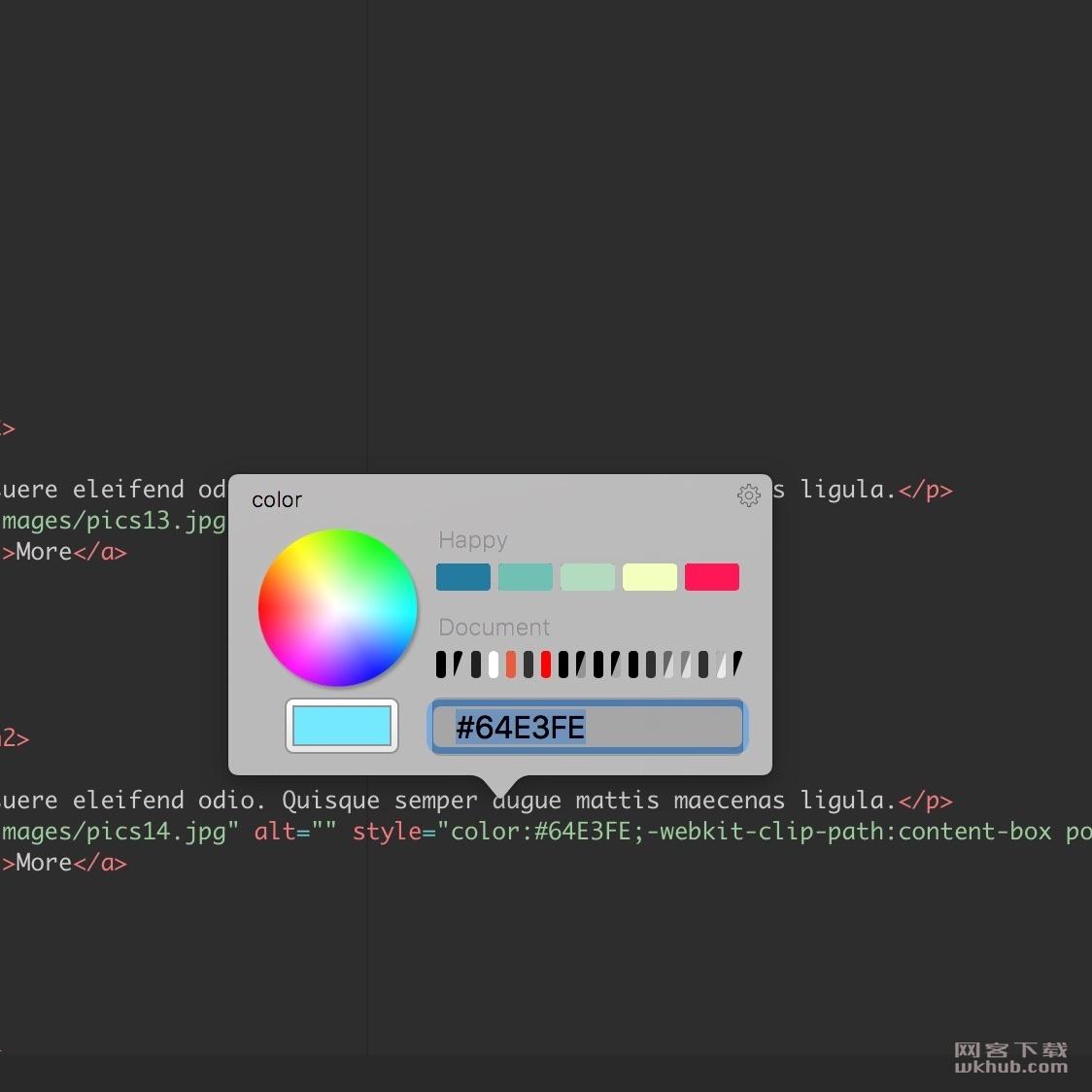 Flux 7.1.11 先进的可视化网页设计工具