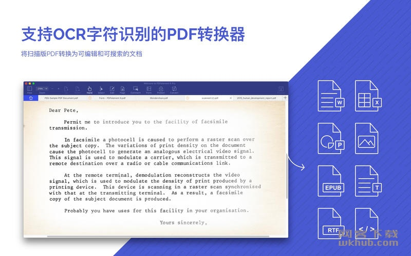 Wondershare PDFelement Pro 6.7.6 强大的PDF编辑应用