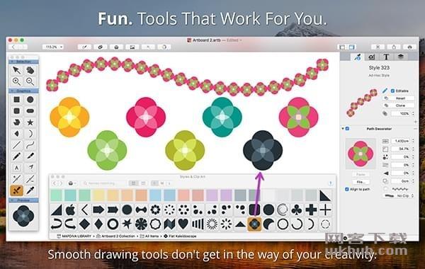 Artboard 2.0.9 又一款矢量绘图工具