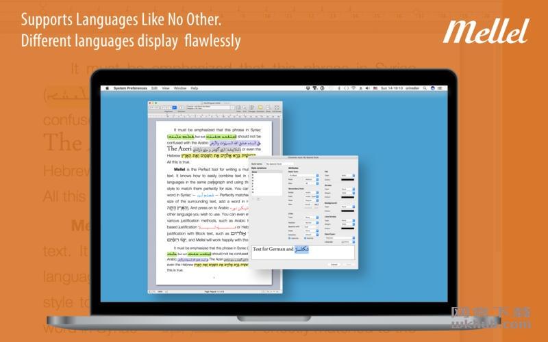 Mellel 4.1.1 一款领先的文字处理程序