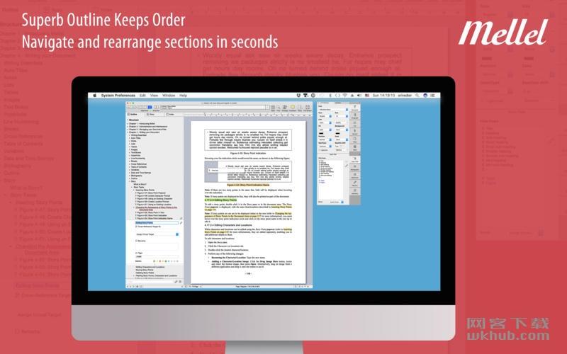 Mellel 4.2.5 一款领先的文字处理程序