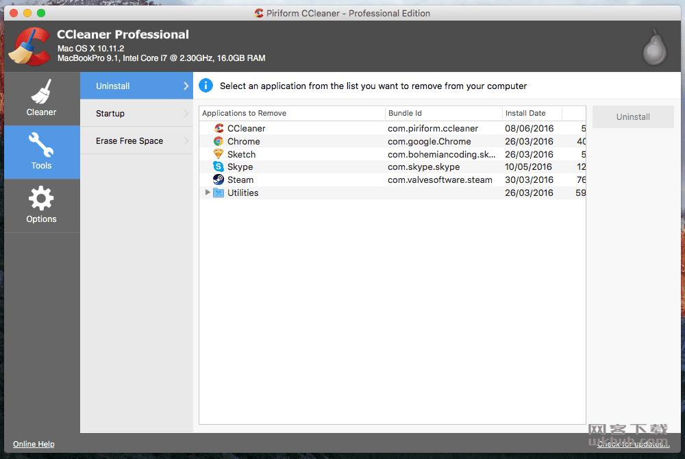CCleaner Pro 1.15.507 简单易用的系统清理和优化工具