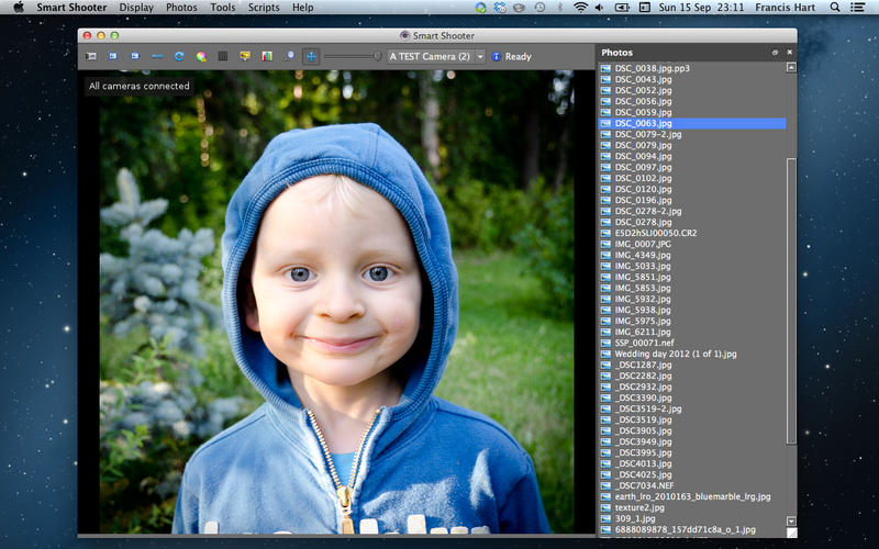 Smart Shooter 4.0 数码相机控制软件
