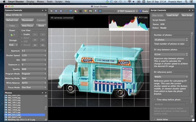 Smart Shooter 4.14 数码相机控制软件