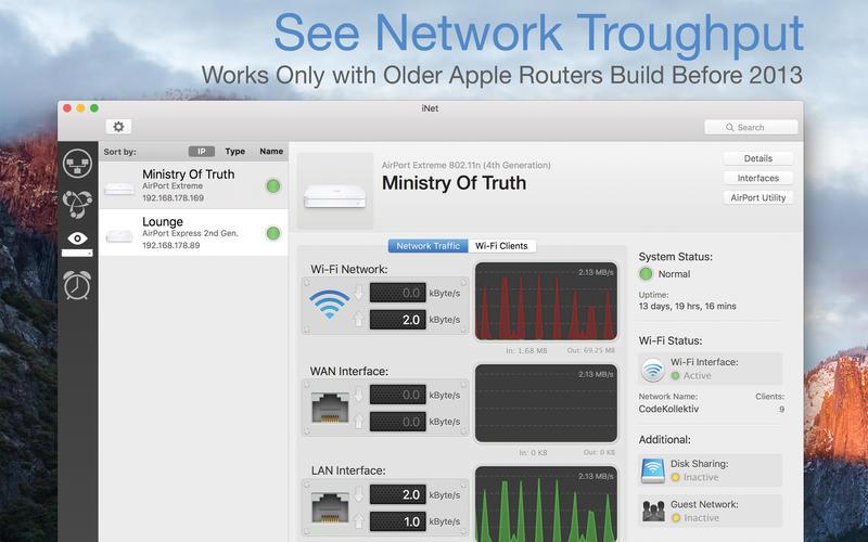 iNet Network Scanner 2.4.9 优秀的网络设备监视器