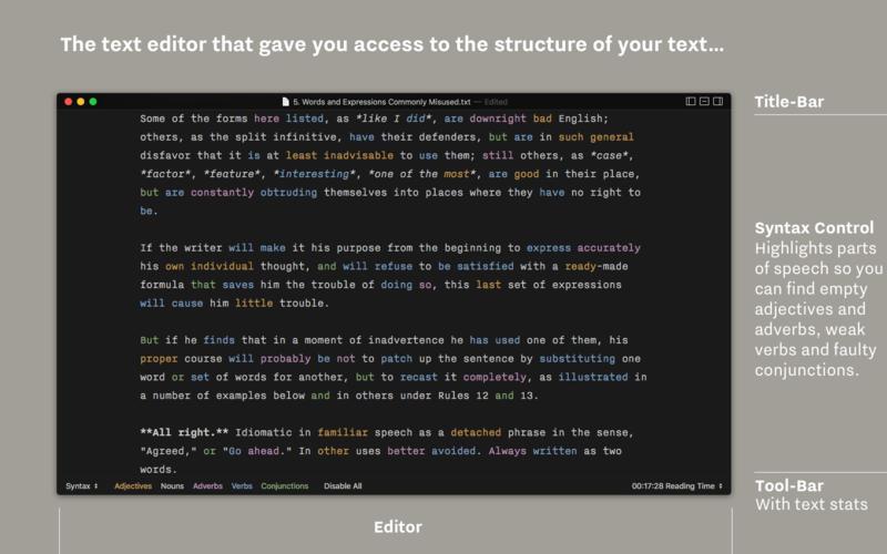iA Writer 5.2.5 简洁易用的文本写作工具