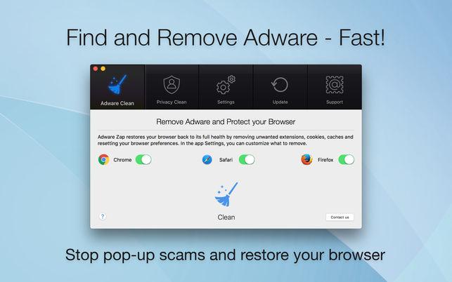 Adware Zap Browser Cleaner 2.0.2 浏览器健康状态恢复应用